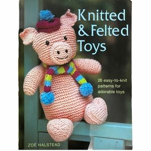 Knitted & Felted Toys Pattern Book